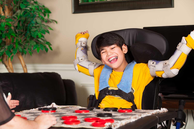Activité sensorielle éveil handicap