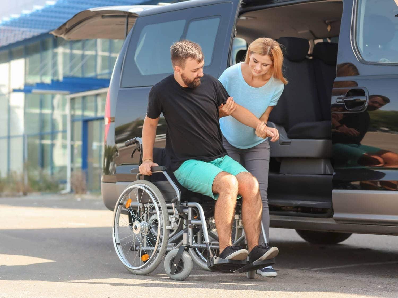 Handicap : aide au transport et à la promenade
